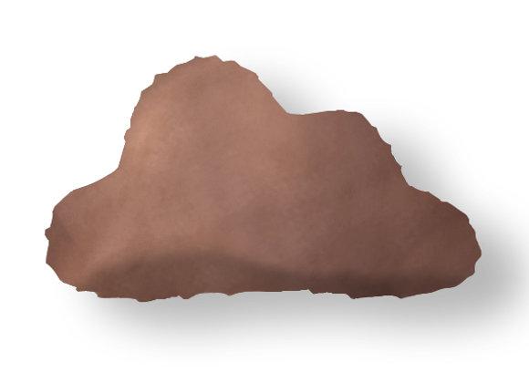DECORATIVE PILLOW CLOUD  - MINKY BROWN
