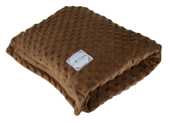 ARM PILLOW - ALL MINKY BROWN