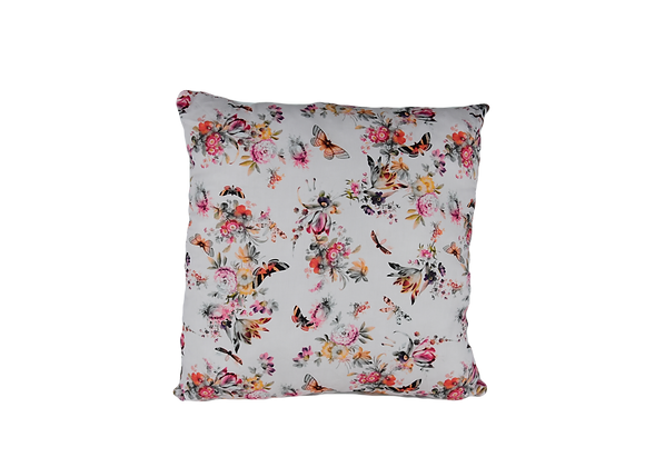 DECORATIVE PILLOW SQUARE - BUTTERFLY BLOSSOM