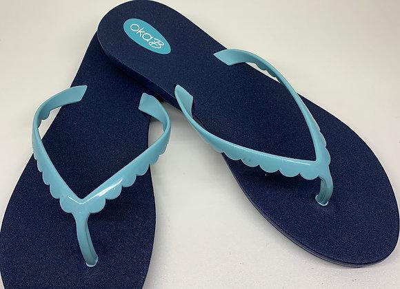 Oka-B Bristol Sandals Sapphire/Signature Blue