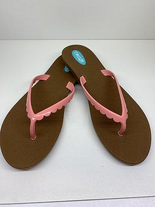 Oka-B Bristol Sandals Toffee/Pink Salt