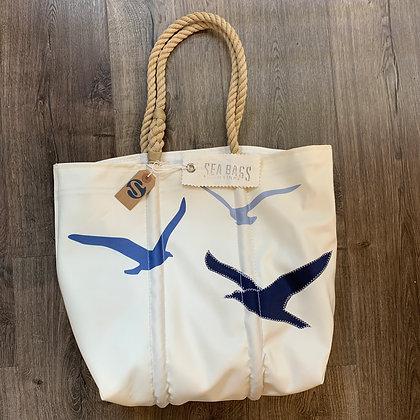 SeaBag Bird Design Tote