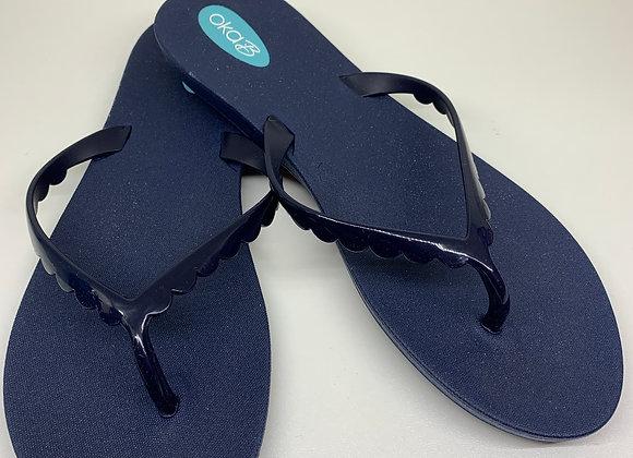 Oka-B Bristol Sandals Sapphire/Sapphire
