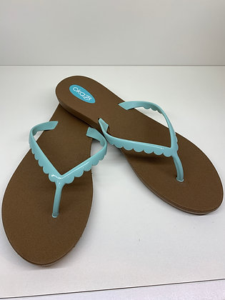Oka-B Bristol Sandals Toffee/Sea Foam