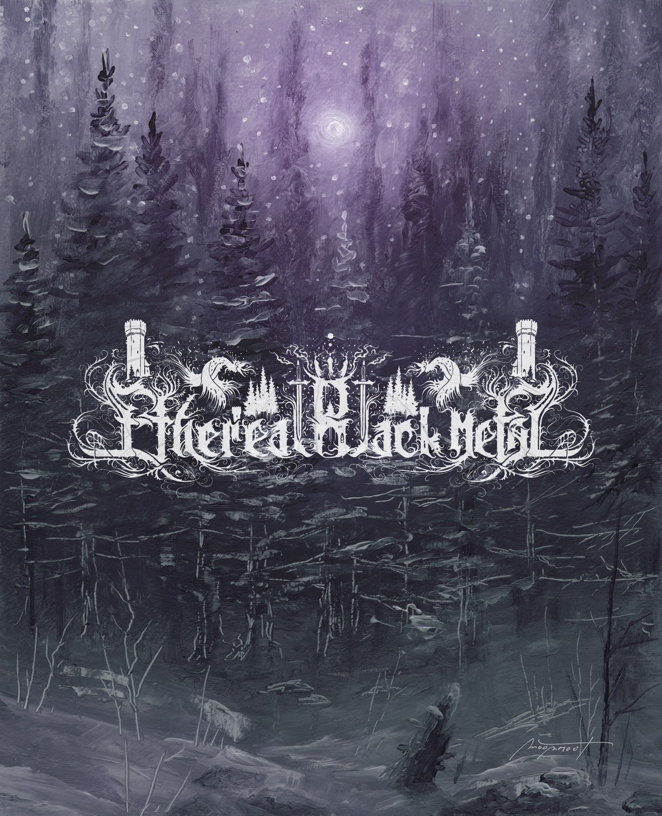 Ethereal Black Metal (Music promo page)