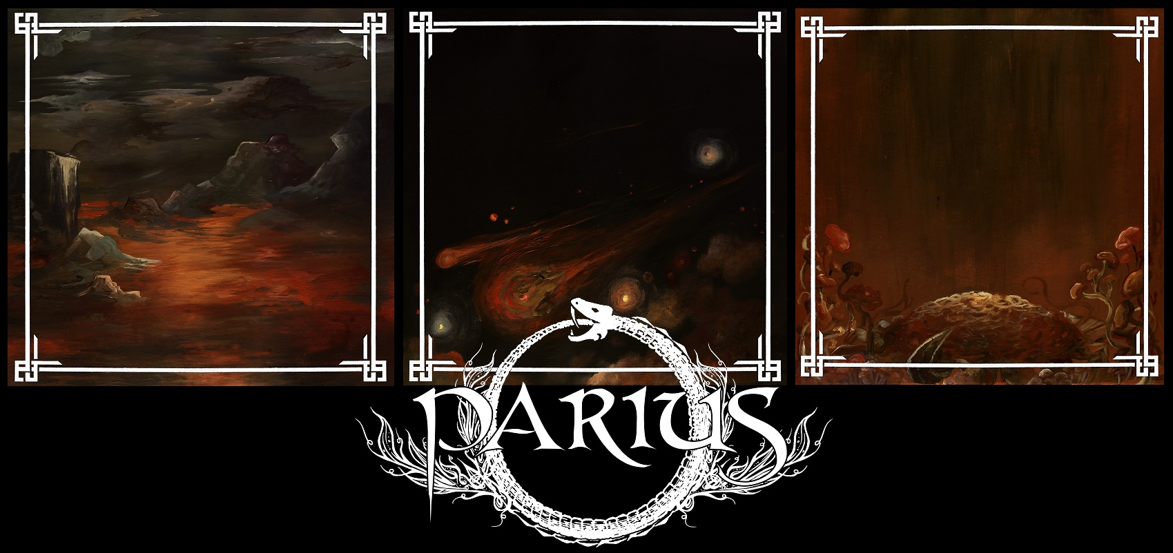 Parius - Let there be light booklet