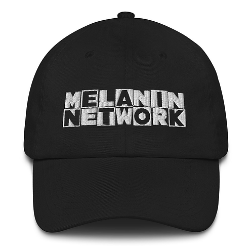Melanin Network Dad Hat