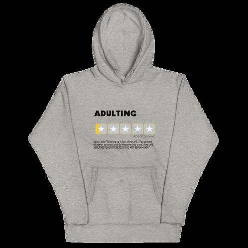Adulting Review Hoodie