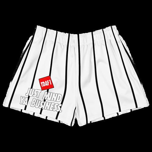 Just Mind Ya Business Women's Athletic Shorts