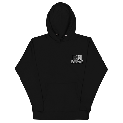 Melanin Network Embroidered Hoodie