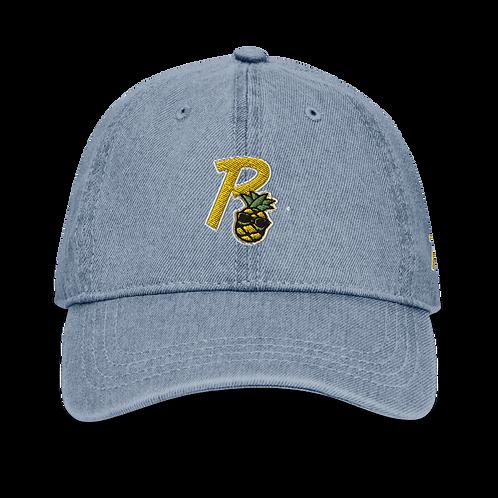 Papi Logo Demin Dad Hat