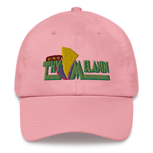 Honor Thy Melanin 2020 Dad Hat
