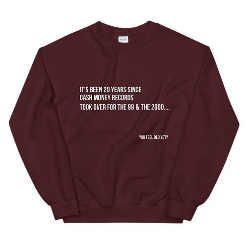 Ca$h Money Facts Unisex Sweatshirt