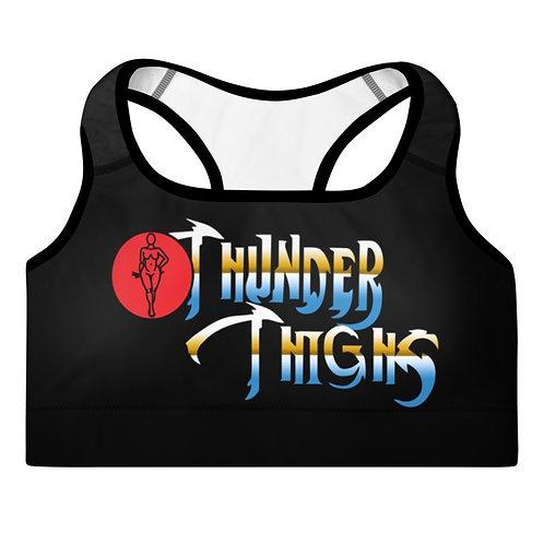 Thunder Thighs Padded Sports Bra