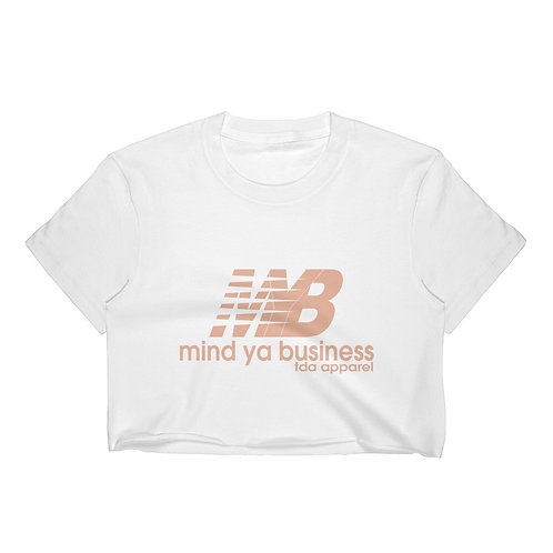 MYB Women's ShortSleeve Crop Top