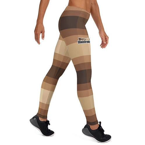Melanin Illustrated Leggings