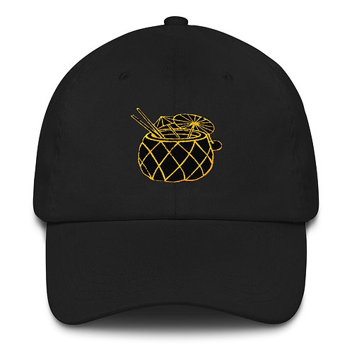 Pineapple Juice Papi Dad Hat