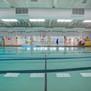 View across both pools