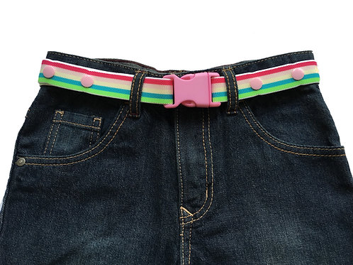 Maxi Belts - Pink Buckle