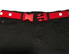 Maxi Belt Red Buckle Clip - Kids Belt CL