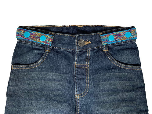 Midi Belts - Blue Sparkles