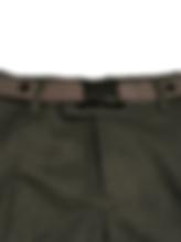 Maxi Buckle Belt Grey Black School - Fro