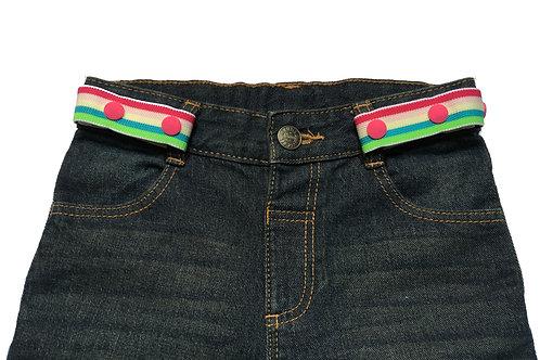 Midi Belts - Pastel Rainbow