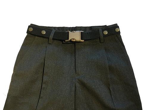 Maxi Belts - Grey Buckle