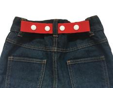 RED KIDS BELT - Handmade UK HMUK - ETSY