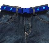 Buck-Belt-Belts-Royal Blue - rainbow - -pink - red - Snap Belt - adjustable - elastic - handmade - kidswear - kidsclothing - kidsjeans - boybelts - girlbelts