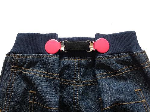 Mini Braces - Pink Clips
