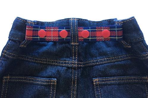 Mini Belts - Tartan