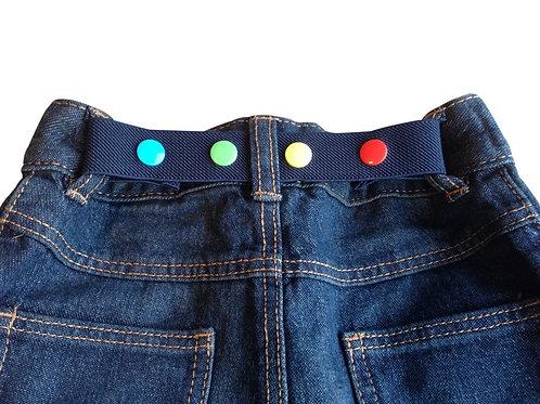 Mini Belts - Navy Blue