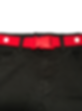 Maxi Buckle Belt Red White - Front - Han