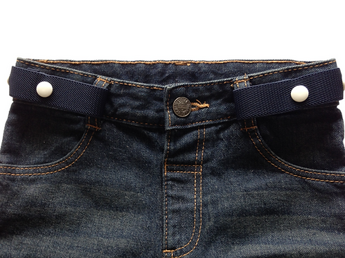 Midi Belts - Navy Blue