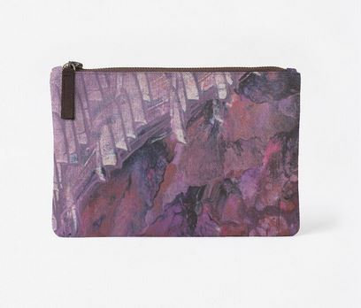 Scratching the Surface, Canvas Clutch