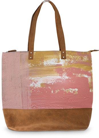 Don't Hurt Me, Suede Bottom Tote