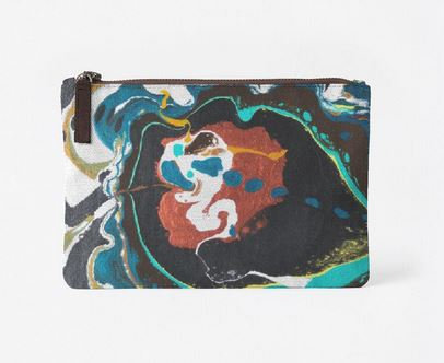 Ghostie, Canvas Clutch