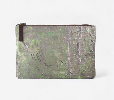 Frosted Soul, Canvas Clutch