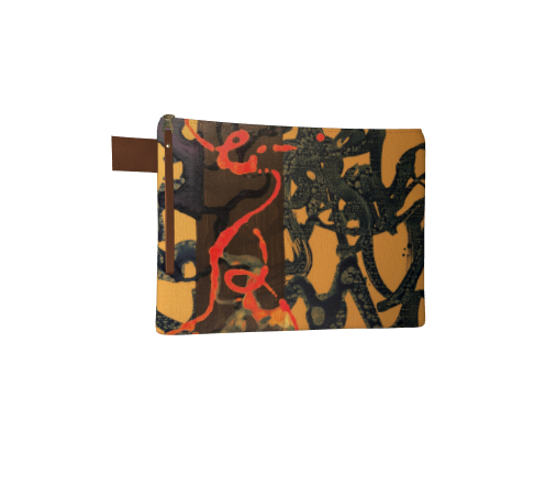The Witch Rides, Canvas Clutch