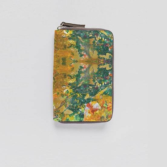 Growth Comes From Within, Leather Wallet