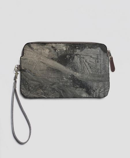 My Heart is Weightless, Leather Clutch W/Strap