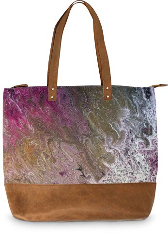 The Hotness, Suede Bottom Tote