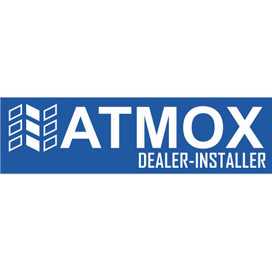 ATMOX Logo - Dealer Reverse Blue