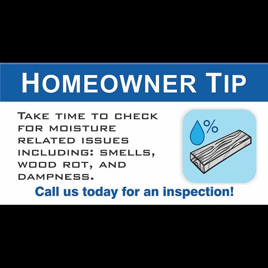 Digital Ad - ATMOX Homeowner Tip - Wood Moisture