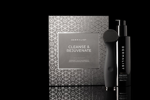 Dermalist Cleanse & Rejuvenate Limited Edition Kit 200mL, 1x cleansing device