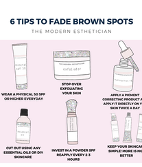Brown Spots:6 TIPS on how to treat hyperpigmentation!