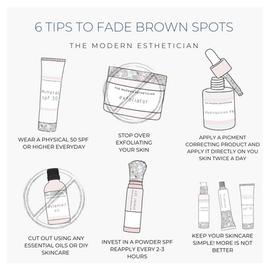Brown Spots:Don't fight hyperpigmentation, get even.