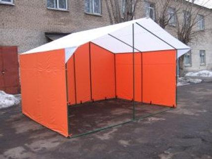 Торговая палатка уличная «Домик», разборная, 3*3 м.