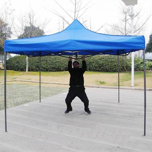 Шатер торговый 3х4,5 раздвижной синий
